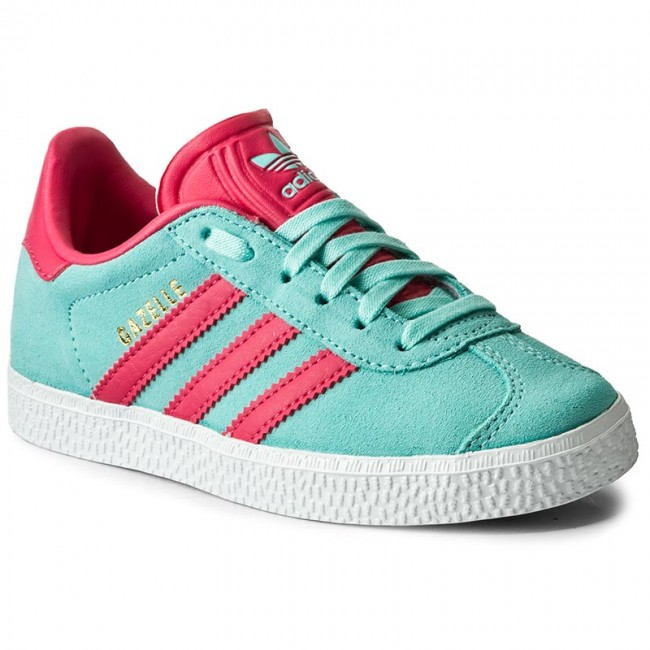 Scarpe adidas - Gazelle C BY9549 Eneaqu/Suppnk/Goldmt