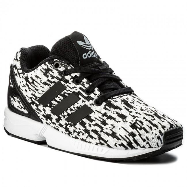 the best attitude 1f50d ef9e9 Scarpe adidas - Zx Flux C BY9856 Cblack Cblack Ftwwht