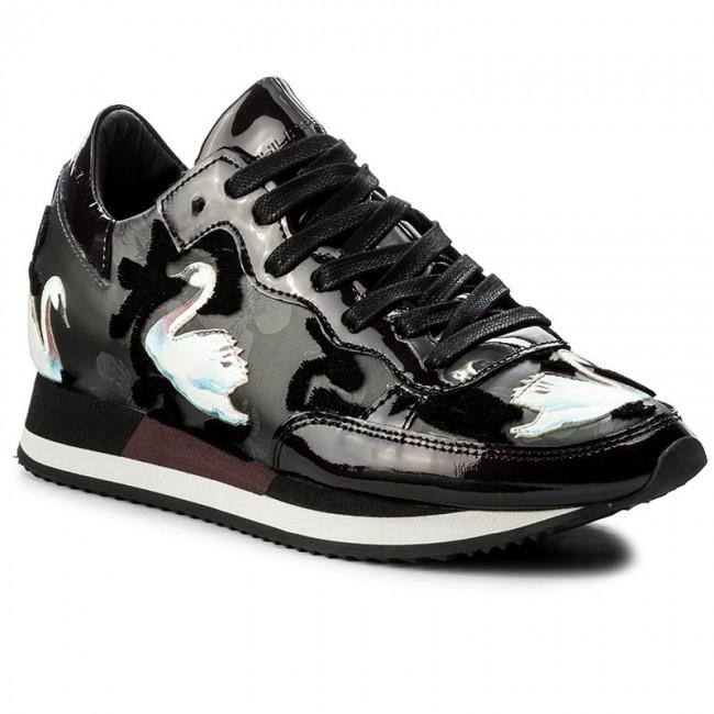 6ed849b34da3a Sneakers PHILIPPE MODEL - Etoile TBLD NC02 Cignes Noir - Sneakers ...