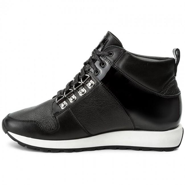 Sneakers GINO ROSSI - Yuka DTH609-S56-0209-9999 escarpe neri Pelle Salida Para El Buen wUhecwIe7