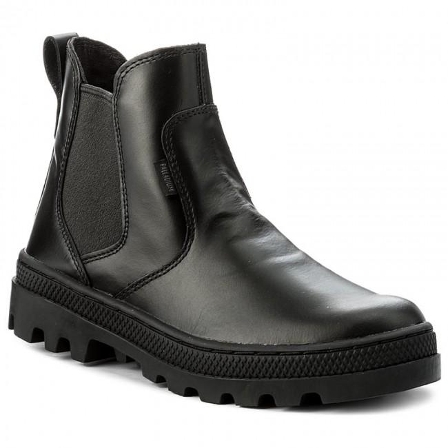 Scarponcini PALLADIUM - Pallabosse Chelsea L 95521-636 escarpe neri Pelle Venta Visita 6ji8jdg7
