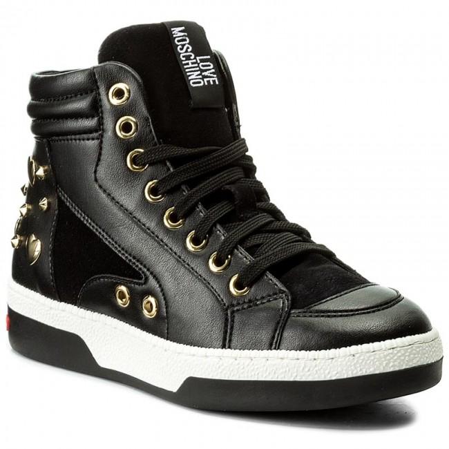 Sneakers LOVE MOSCHINO - JA15313G04JB200A Nero - Sneakers - Scarpe ... 0ab1591aa8d