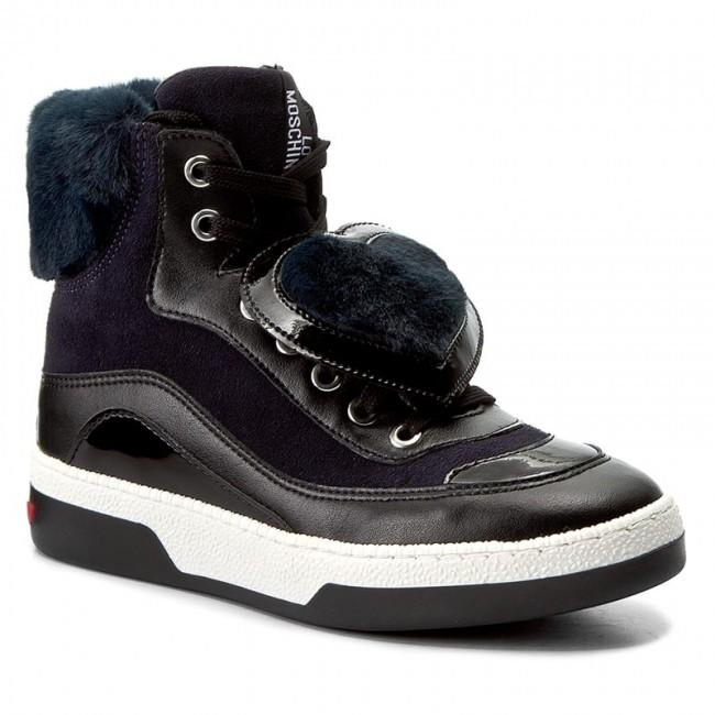 Sneakers LOVE MOSCHINO - JA15343G04JJ175B Nero - Sneakers - Scarpe ... 168e81c621d