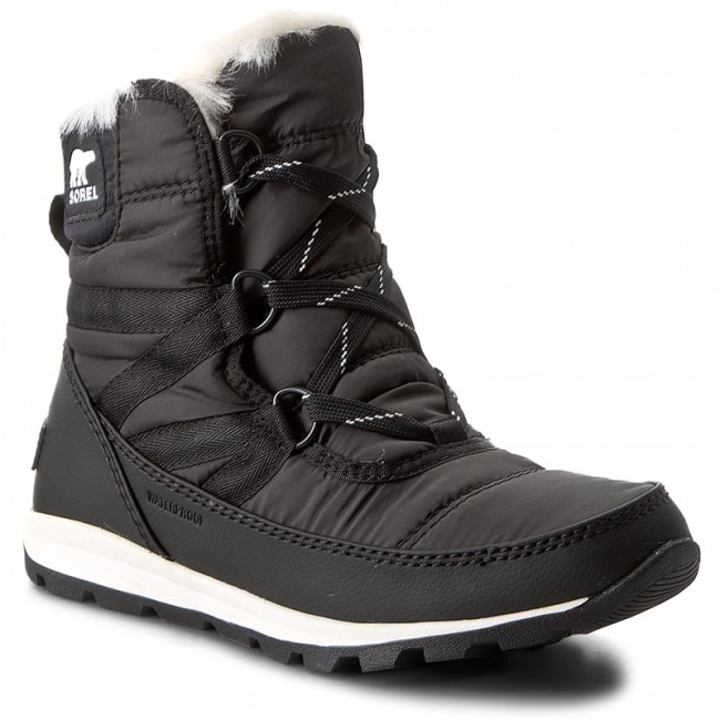Stivali da neve SOREL - Whitney Short Lace NL2776 nero 010 - Stivali da neve - Stivali e altri - Donna   Qualità Stabile    Uomini/Donne Scarpa