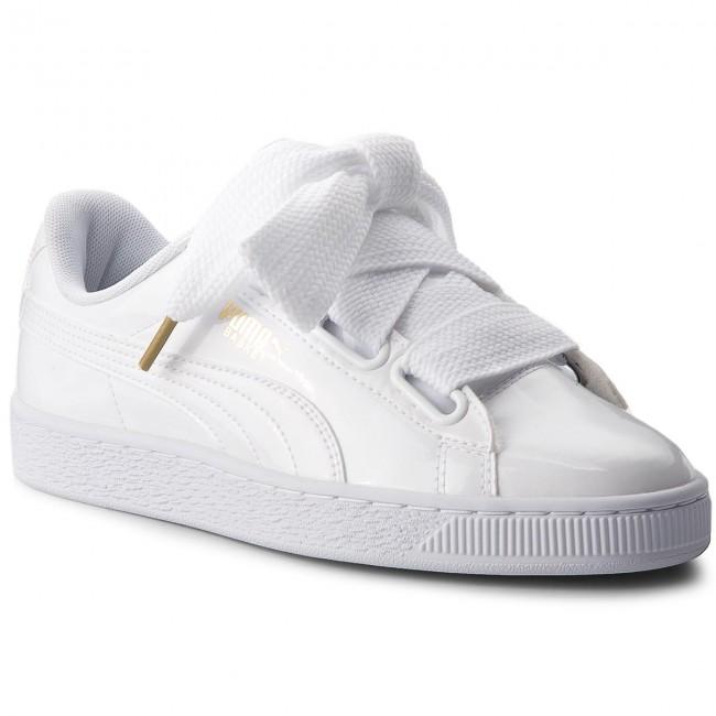 sneaker puma basket heart