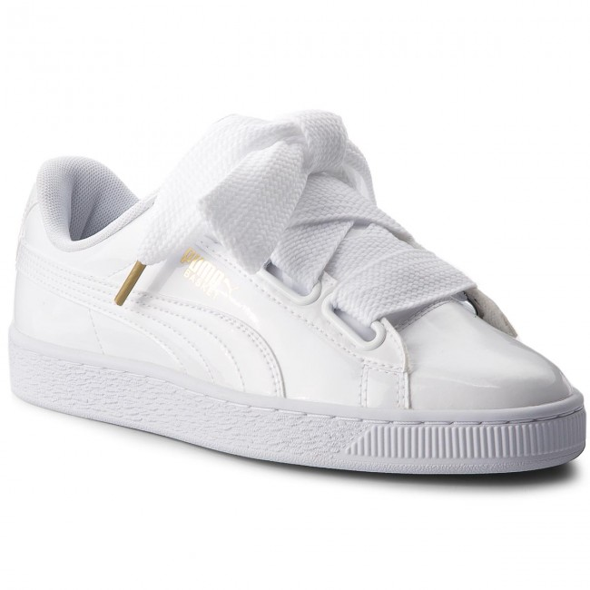scarpe puma basket heart patent
