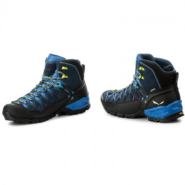 350b1890ef1f5 Scarpe da trekking SALEWA - Alp Trainer Mid Gtx GORE-TEX 63432-0361 Dark