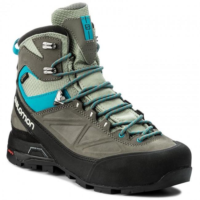 Scarpe da trekking SALOMON - X Alp Mtn W GORE-TEX 398410 25 G0 Shadow 6a87849a1f6