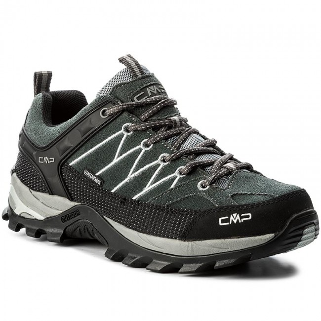 Scarpe da trekking CMP - Rigel Low Trekking Shoes Wp 3Q13247 Grey Mineral  Grey 722P fe430f692de