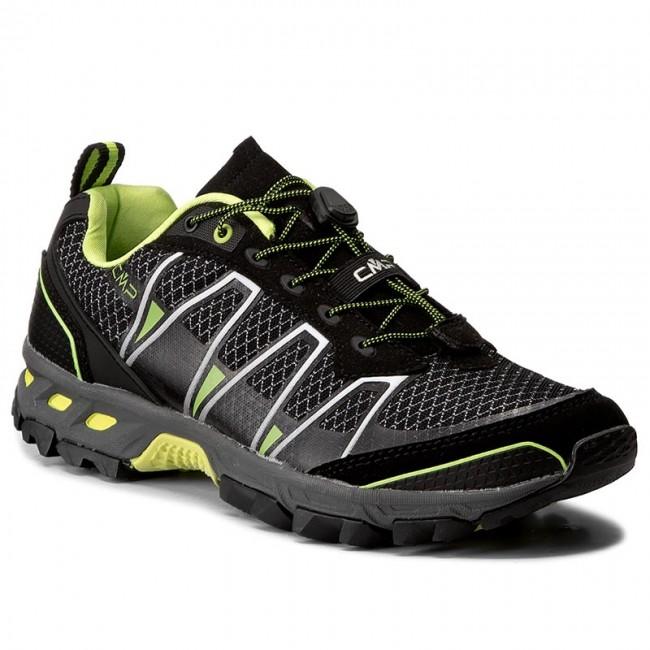 Scarpe da trekking CMP - Atlas Trail Shoes 3Q95267 Nero Yellow Fluo ... 41dc33f6936