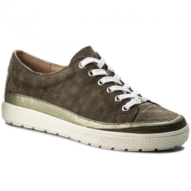 Scarpe basse CAPRICE - 9-23654-20 Khaki Multi 731 - Basse - Scarpe basse - Donna | Molte varietà  | Scolaro/Ragazze Scarpa