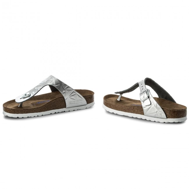 Infradito BIRKENSTOCK - Gizeh Bs 1008468 Spectral Silver - Infradito ... a72919b24d8