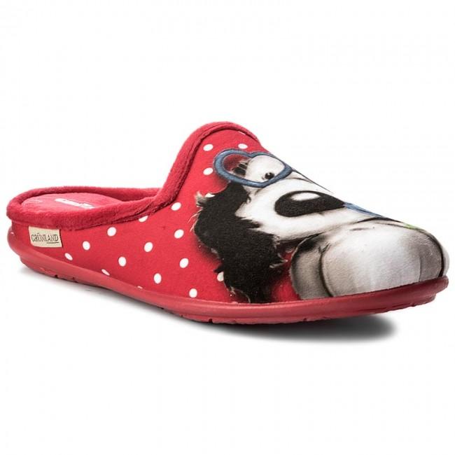 Pantofole GRÜNLAND - Faye CI2203-B5 Rosso - Pantofole - Ciabatte e ... d863b49613d