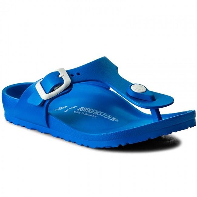Infradito BIRKENSTOCK - Gizeh 1003520 Scuba Blue - Infradito ... cebc3764f36