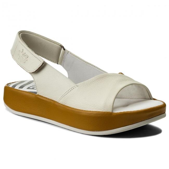 Sandali FLY LONDON - Barifly P500855003 Offbianca Honey - Sandali da giorno - Sandali - Ciabatte e sandali - Donna   Ideale economico    Uomini/Donne Scarpa