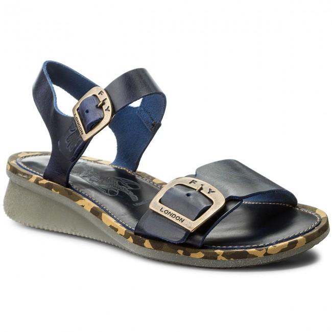 Sandali FLY LONDON - Combfly P144230007 blu - Sandali da giorno - Sandali - Ciabatte e sandali - Donna | Alta qualità ed economico  | Gentiluomo/Signora Scarpa