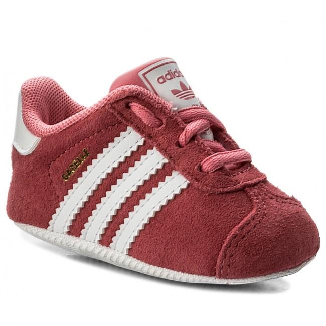 31ba937002 Scarpe adidas - Gazelle Crib CM8228 Chapnk/Ftwwht/Ftwwht - Stringate ...