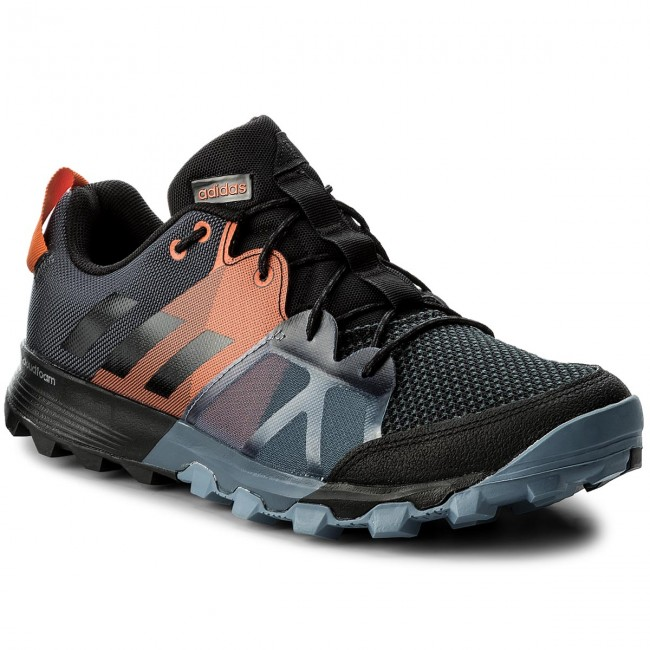 Scarpe adidas - Kanadia 8.1 Tr M CP8842 Carbon/Cblack/Orange