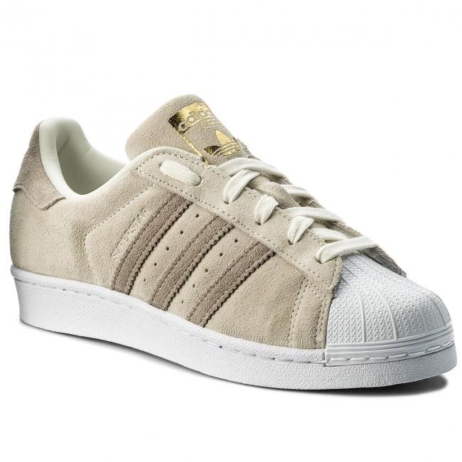 Scarpe adidas - Superstar W CG5459 Owhite/Lbrown/Hiregr