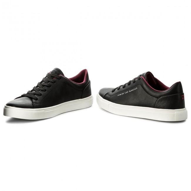finest selection 505ed fd798 Black Fmlui1 Guess Luiss Basse Sneakers Fam12 Scarpe 68nHHx