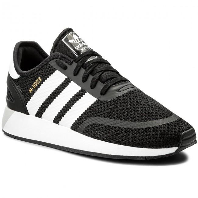 60c388886c5b9 Scarpe adidas - N-5923 CQ2337 Cblack Ftwwht Greone - Sneakers ...
