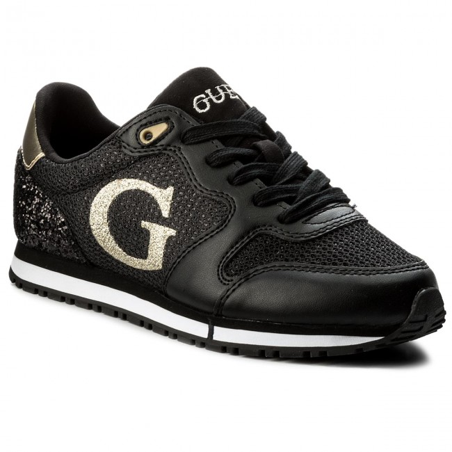 Sneakers GUESS - Johnny FLJHN1 FAB12 BLACK - Sneakers - Scarpe basse ... ff57e10b872