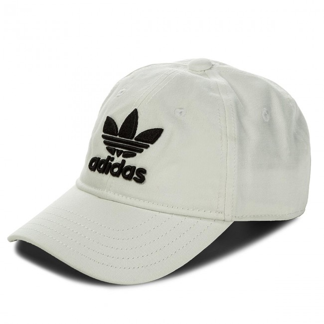 Cappello adidas - Trefoil Cap BR9720 White Black - Donna - Cappelli ... 8afc4db45832