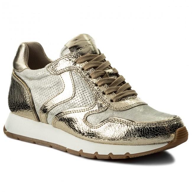 Sneakers VOILE BLANCHE - Julia 0012012438.01.9105 Inox/Argento escarpe grigio Pelle Llegar A Comprar A La Venta lFASVer14X