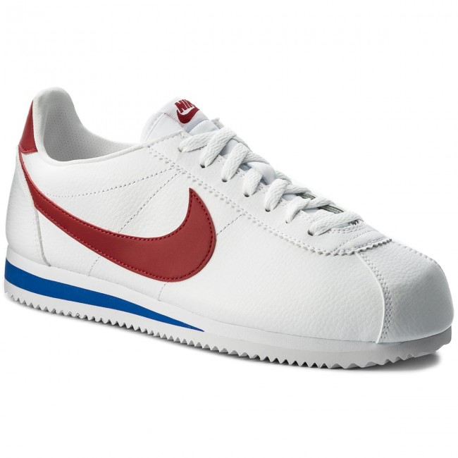 Scarpe NIKE - Classic Cortez Leather 749571 154 White Varisty Red ... f5fb71751f3