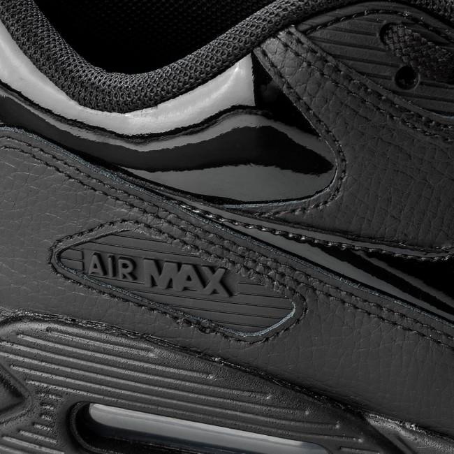 best sneakers 69c44 19915 Scarpe NIKE - Wmns Air Max 90 Lea 921304 002 Black Black Black