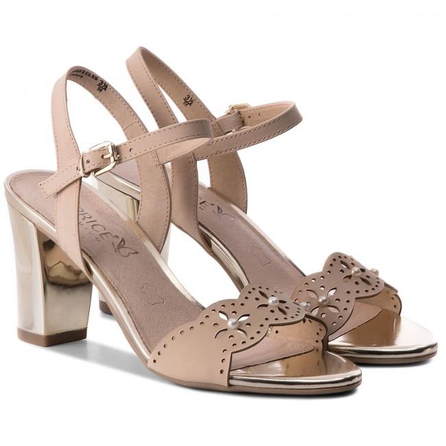 Sandali CAPRICE - 9-28303-20 Beige Nubuc 401 401 401 - Sandali da giorno - Sandali - Ciabatte e sandali - Donna   Commercio All'ingrosso    Scolaro/Ragazze Scarpa  c01918