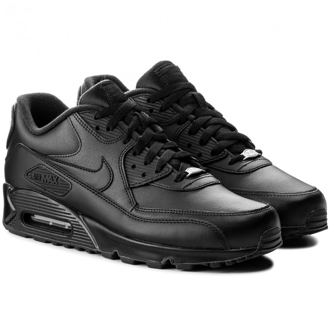 Scarpe NIKE - Air Max 90 Leather 302519 001 Black/Black