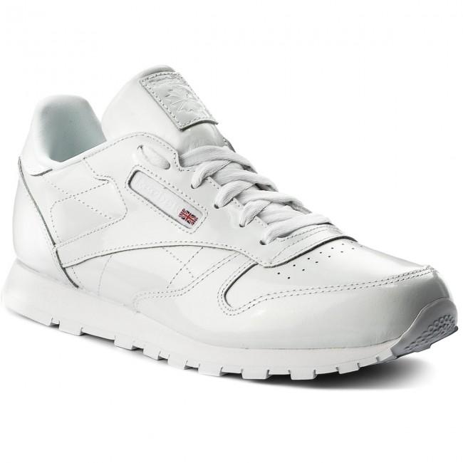 Sneakers Reebok Scarpe Classic Leather Patent Cn2063 White zZC6SWxCqw
