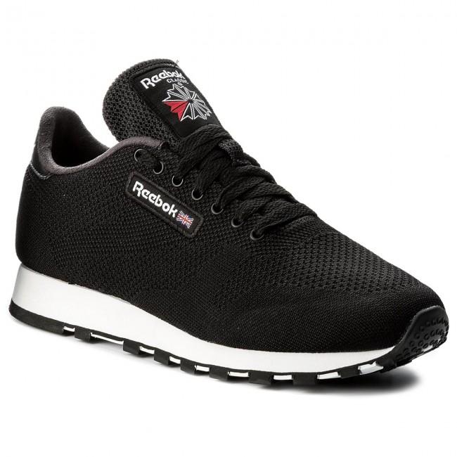 Scarpe Reebok - Cl Leather Ultk CM9876 nero bianca - scarpe da ginnastica - Scarpe basse - Donna | Credibile Prestazioni  | Scolaro/Ragazze Scarpa