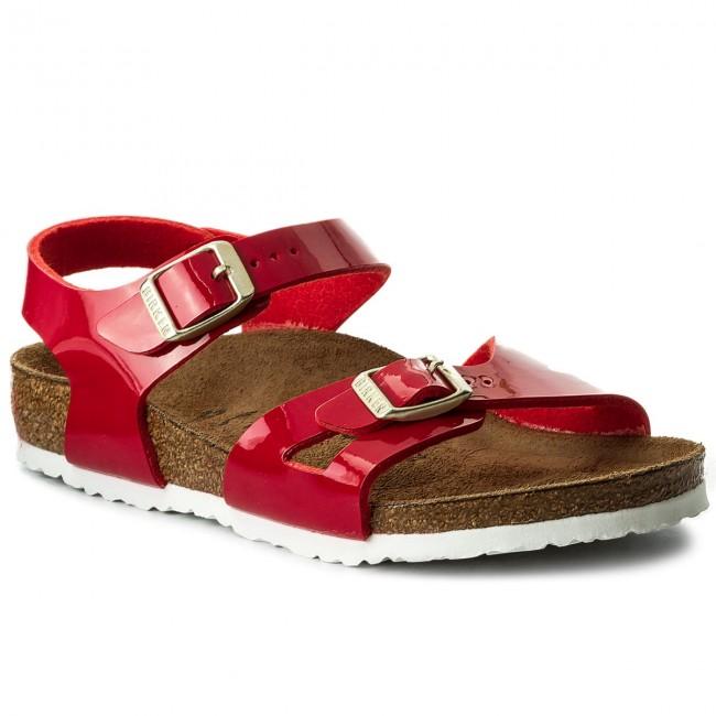 Sandali BIRKENSTOCK - Rio Kids 1005888 D Tango Red Patent - Sandali ... 49f03b3ad8e