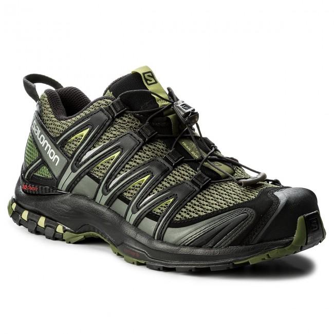 Scarpe SALOMON - Xa Pro 3D 392519 27 V0 Chive Black Beluga - Trail ... a75eea4c028