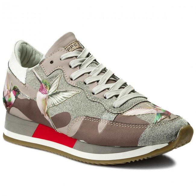 0b82e3dec07d8 Sneakers PHILIPPE MODEL - Etoile TBLD BG03 Tropical Birds Mud Colibri