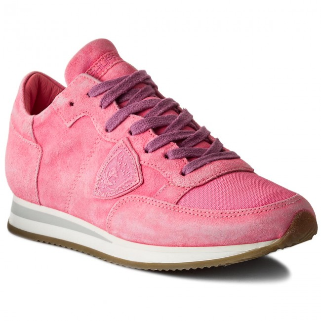 Philippe Model Nd04 Sneakers Tropez Neon Trld Fuxia 543AjRL