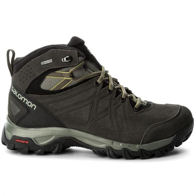 Salomon Evasion 2 Mid Leather GTX Scarpe da trekking Uomo