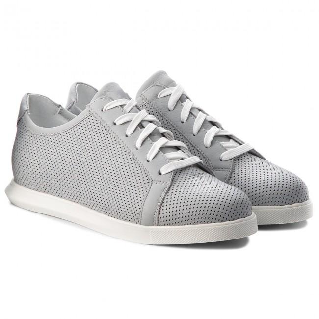 Sneakers GINO ROSSI - Ozuki DPH888-AC7-HN00-1100 escarpe grigio Pelle at9JKPJ6Q