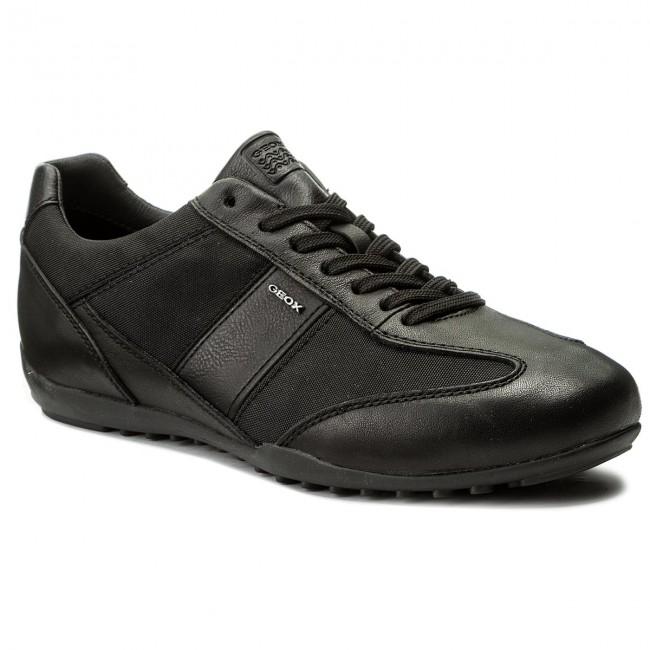 6b57f4d3d49fa Sneakers GEOX - U Wells A U74T5A 08511 C9999 Black - Sneakers ...