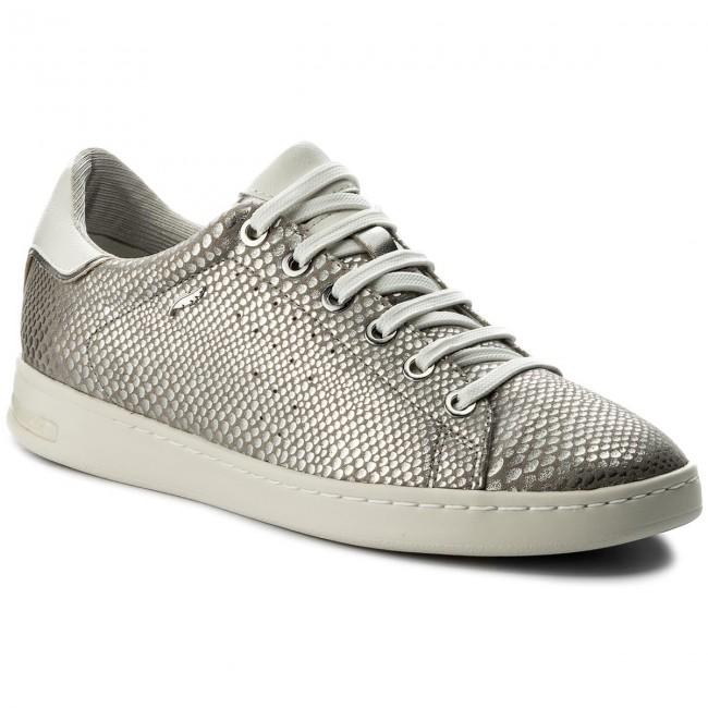 Geox D 000ki Sneakers Silver C1007 A Jaysen D621ba Tl135KFJuc