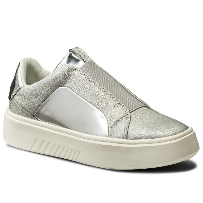 B Nhenbus C1007 Sneakers Silver D 0kybn Geox D828db w80kPXNnO