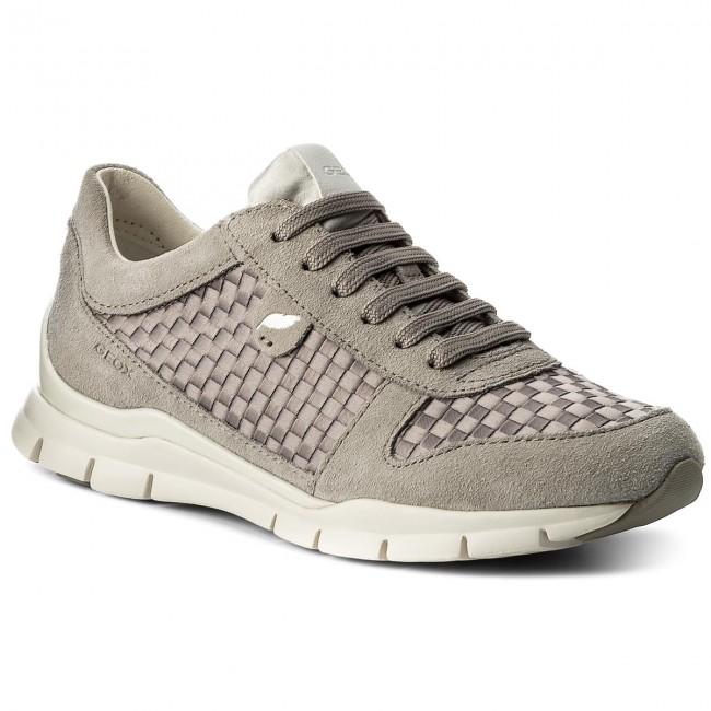 Sneakers GEOX - D Sukie A D52F2A 022ZI C1414 Lt Grey - Sneakers ... ac6946f12b2