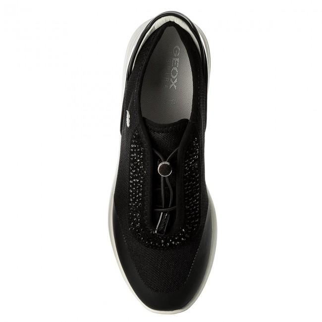 Sneakers GEOX D Ophira E D621CE 01402 C0595 BlackBlack