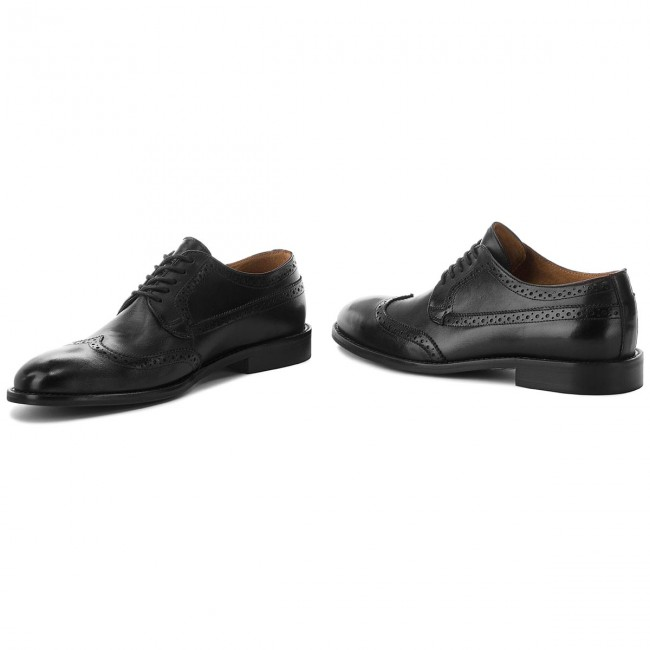 Scarpe basse BOSS - Kensington 50380197 10201996 01 Black 001