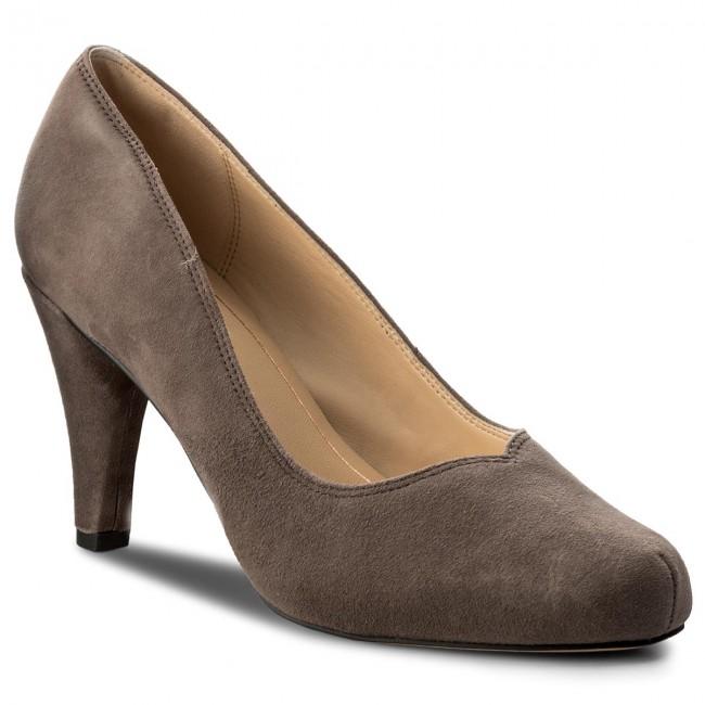 Scarpe basse CLARKS - Dalia rosa 261322694 Taupe Suede  - Con tacco - Scarpe basse - Donna | Grande Vendita Di Liquidazione  | Gentiluomo/Signora Scarpa