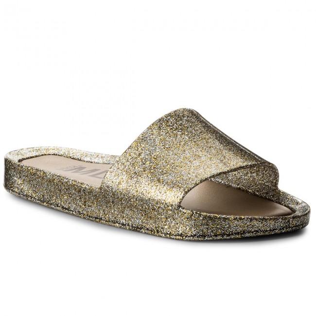 Ciabatte MELISSA - Beach Slide Shine Ad 32291 Mixed oroen Glitter 03771 - Ciabatte da giorno - Ciabatte - Ciabatte e sandali - Donna   Buona qualità    Maschio/Ragazze Scarpa