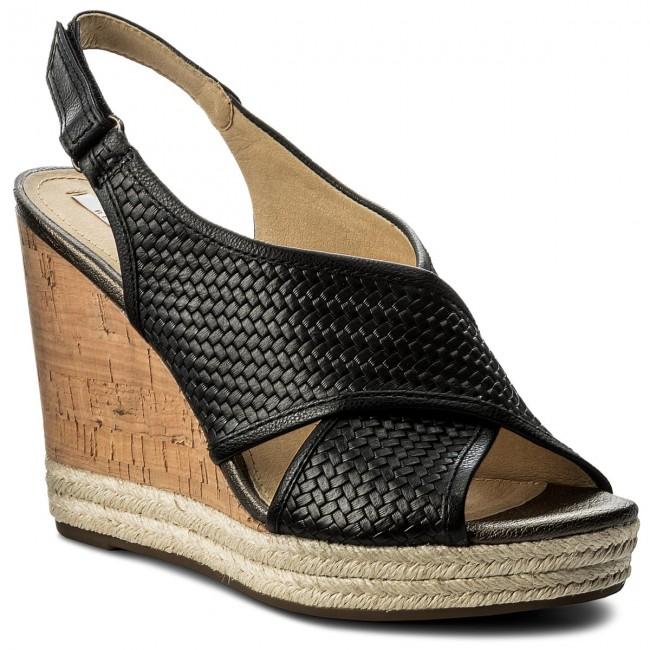Espadrillas GEOX - D Janira C D82P6C 06RBC C9999 nero - Espadrillas - Ciabatte e sandali - Donna | Offerta Speciale  | Uomo/Donne Scarpa