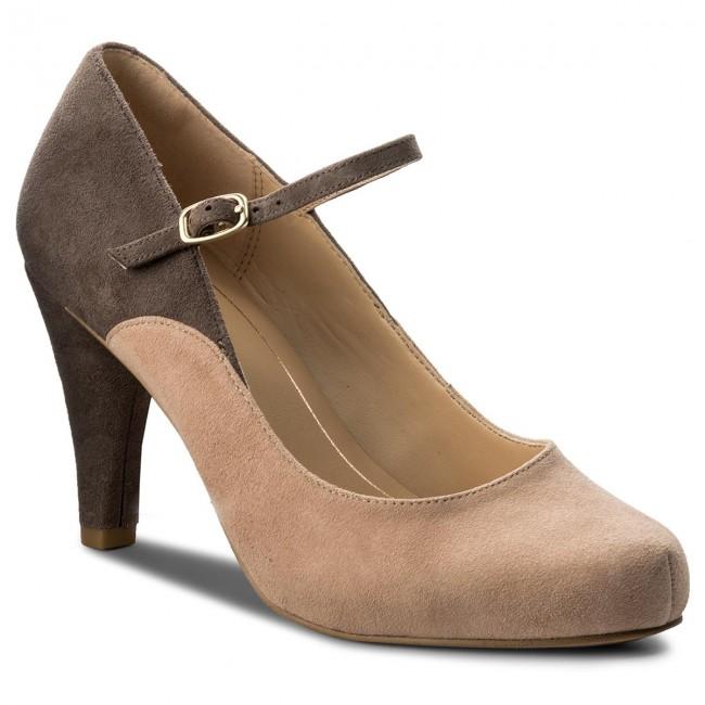 Scarpe basse CLARKS - Dalia Lily 261332504  Nude Combi  - Con tacco - Scarpe basse - Donna | Costi Moderati  | Maschio/Ragazze Scarpa